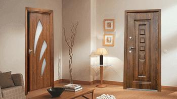 Подходящ цвят за интериорна и входна врата