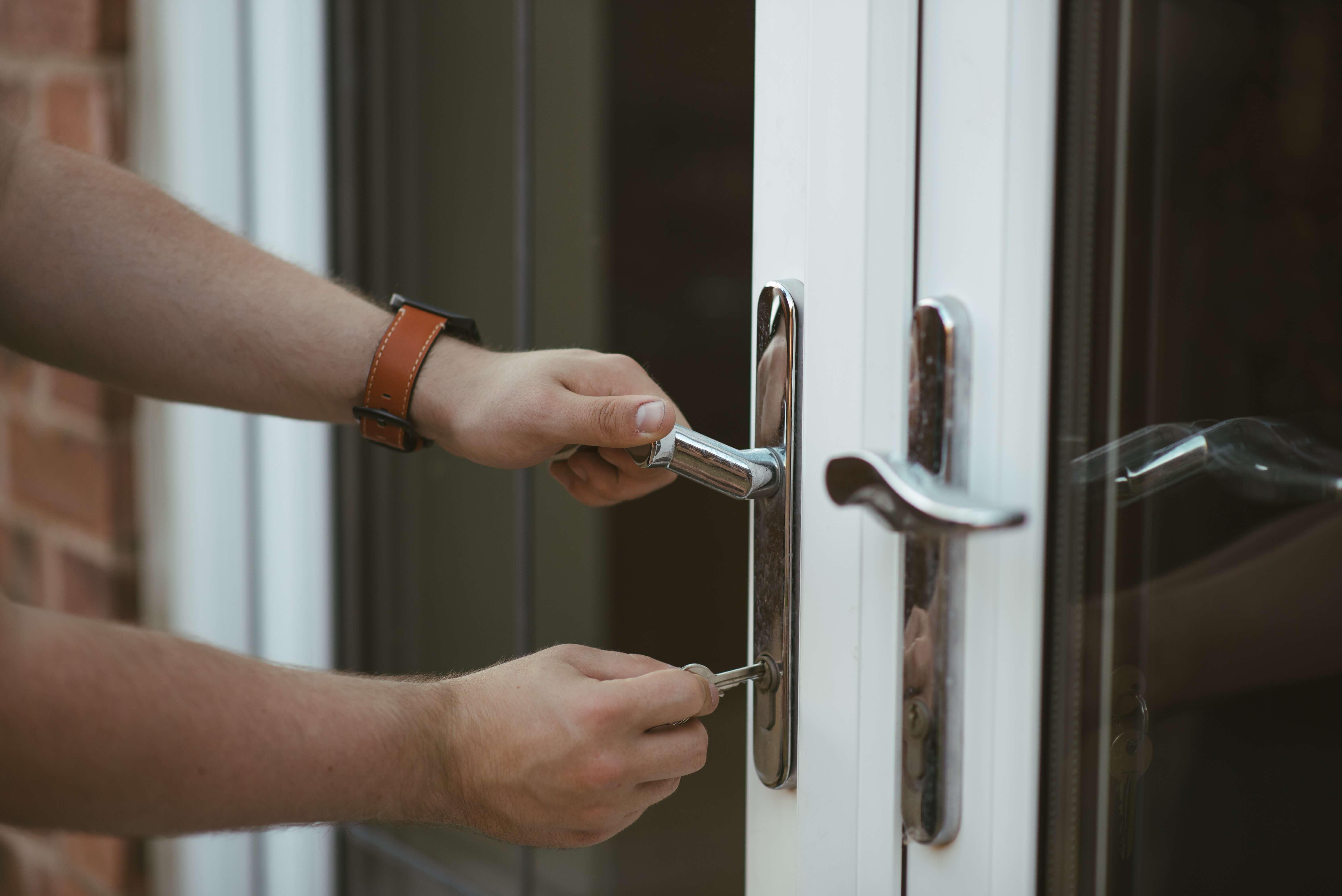 Допълнителна защита при входните врати