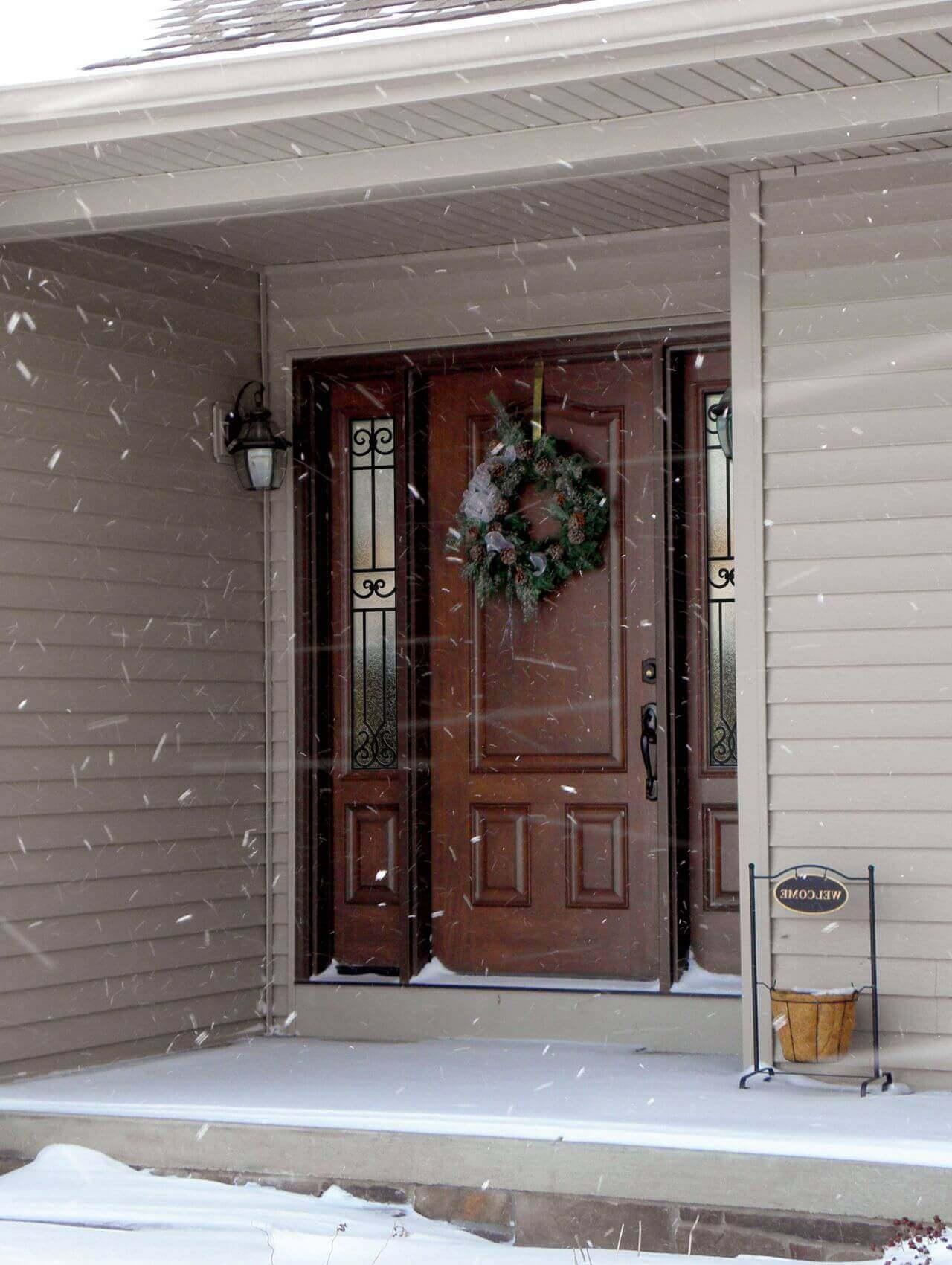 Дали Вашите входни врати са подходящи за зимата?